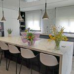 Reforma y ampliación de cocina en unifamiliar